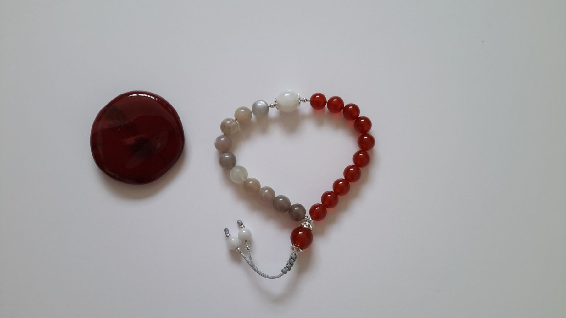 Creation Fertility Wrist Mala and Mookaite