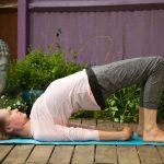 bridge fertility yoga pose