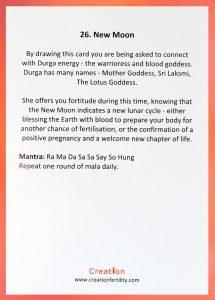 New Moon Wisdom