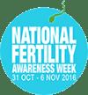 Fertlity Nutrition supports National Fertility Awareness week