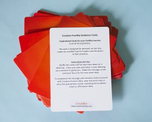 Creation Fertility Guidance Cards Instructions