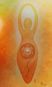 Creation Fertility Sacral Goddess