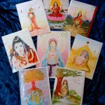 Set of 8 Goddess cards